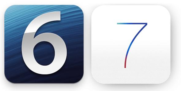 iOS 6 vs 7